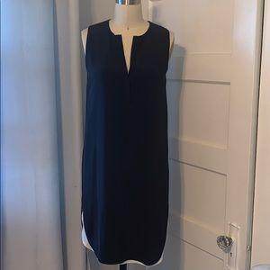 Vince Double Layer Silk Dress